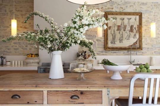 Comptoir de cuisine for Deco comptoir cuisine