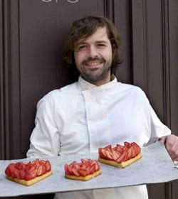 coeur de fraises, une création de gontran cherrier pour la fête des mères.