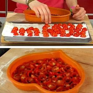 disposer les tomates