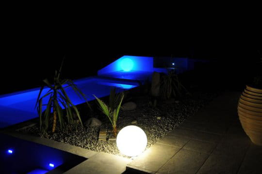 Une piscine design