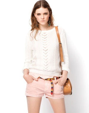 short rose de zara