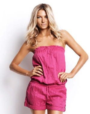 combi-short rose de seafolly
