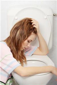 les vomissements soulagent les nausées.