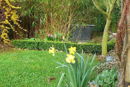 une baignoire dans le jardin un jardin aux mille et une. Black Bedroom Furniture Sets. Home Design Ideas