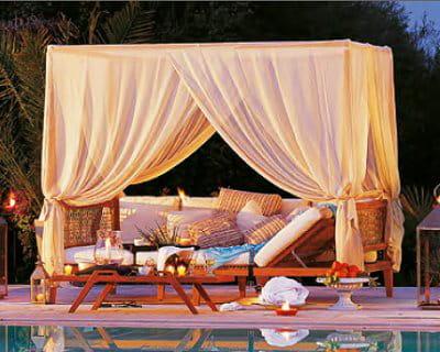 Pour un d cor digne des mille et une nuits terrasse et for Decoration mille et une nuit