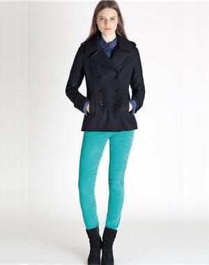 jean vert de calvin klein jeans