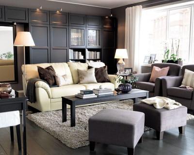 maison de famille quoi de neuf pour mon salon journal des femmes. Black Bedroom Furniture Sets. Home Design Ideas