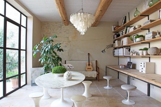 tout en longueur des coins bureau qui nous inspirent journal des femmes. Black Bedroom Furniture Sets. Home Design Ideas