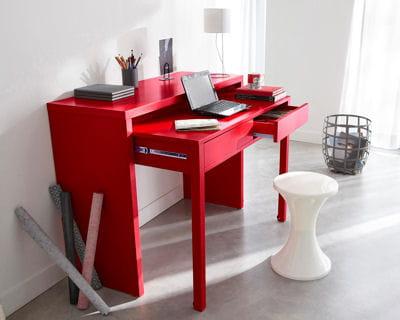 Bureau console de 3 suisses faites place aux nouveaux for Petit espace bureau