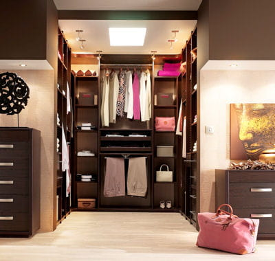 dressing de c lio chambre dressing dressings d co et pratiques journal des femmes. Black Bedroom Furniture Sets. Home Design Ideas