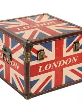 Bo te london flag de maisons du monde des bo tes pleines - Boite deco maison du monde ...