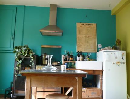 Mettre en couleur les murs de la cuisine relooker sa cuisine sans se ruiner - Cuisine non integree ...