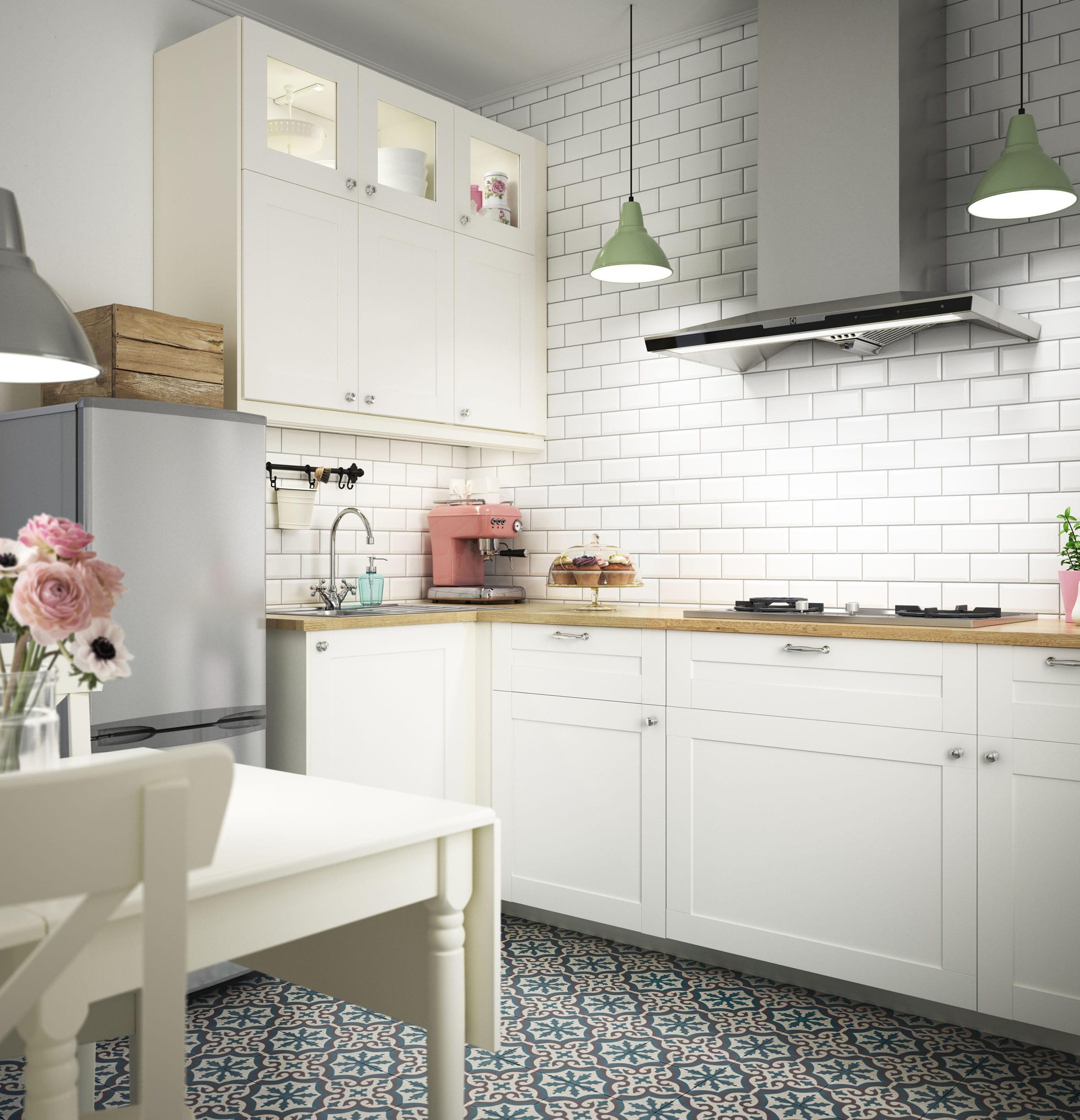 Carrelage Mural Cuisine Ikea metod f rvara lt haut tablettes 2tiroirs 4ptes blanc