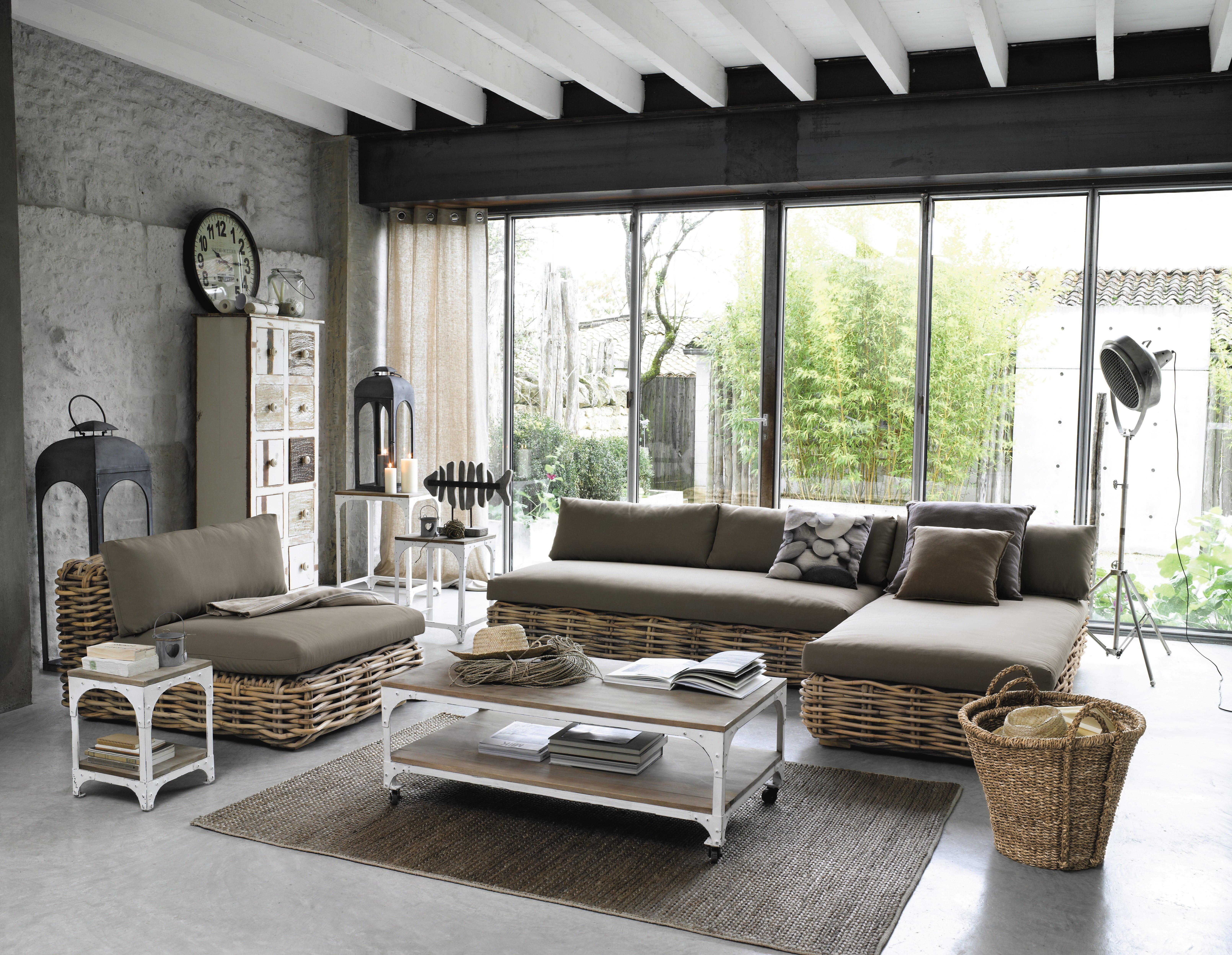 Salon Maison Interesting French Country Cottages Villa Sterenn  # Muebles Maison Du Monde